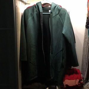 Jackets & Blazers - Green Velvet Jacket